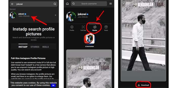 download story instagram tanpa aplikasi