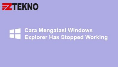 Cara Mengatasi Windows Explorer Has Stopped Working