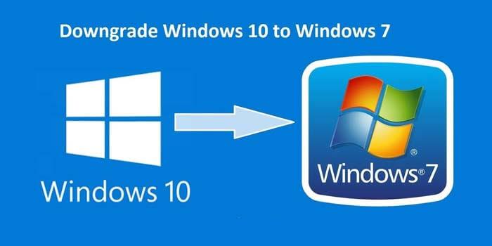 Downgrade OS Windows 10