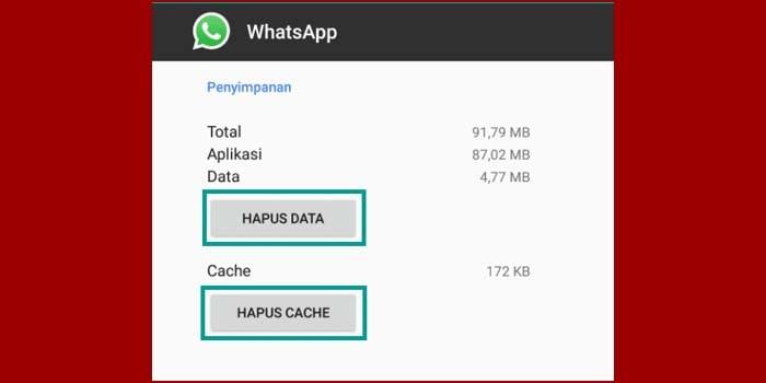 mengatasi whatsapp tidak bisa masuk