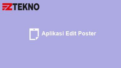 Aplikasi Edit Poster