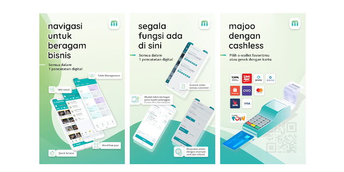 Aplikasi Kasir dan Wirausaha - majoo