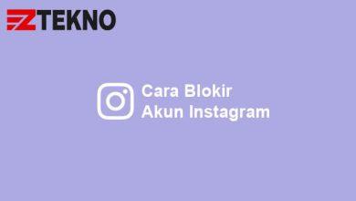 Cara Blokir Akun Instagram