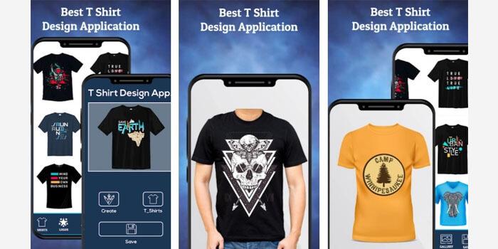 T Shirt Design - Planets Studio