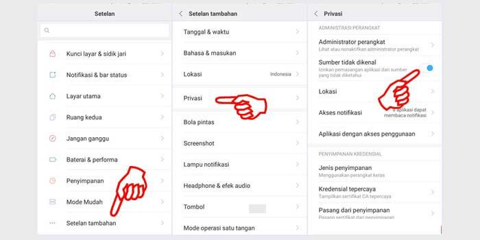 cara mengatasi aplikasi tidak terinstal