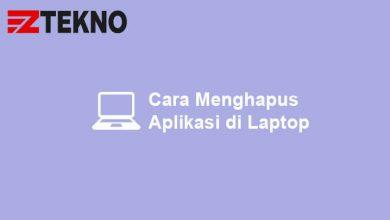 Cara Menghapus Aplikasi di Laptop