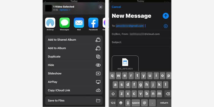 Cara Mengirim Video Melalui Email OneDrive