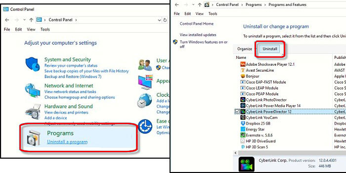 cara menghapus aplikasi di laptop windows 8