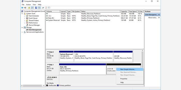 cara partisi hardisk tanpa instal ulang