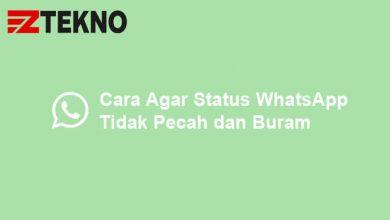 Cara Agar Status WhatsApp Tidak Pecah